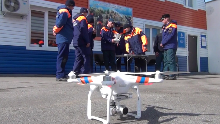 Обучение на операторов беспилотных летательных аппаратов (ДВРПСО) МЧС России