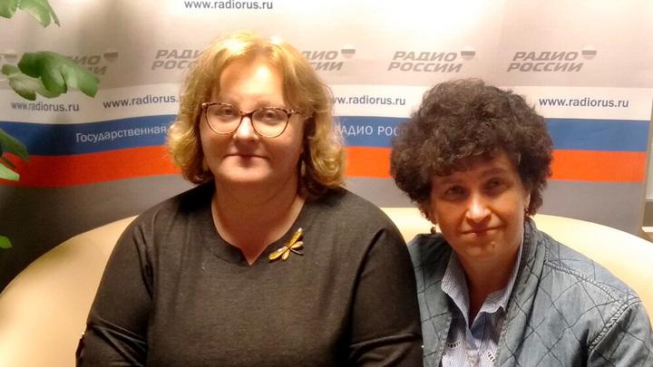 Ольга Копылова и Елена Петряйкина