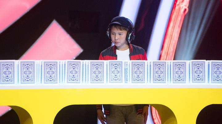 Удивительные люди-4. Наранбат Ширбазар. невероятная память, 12 лет, г. Улан-Батор (Монголия).
