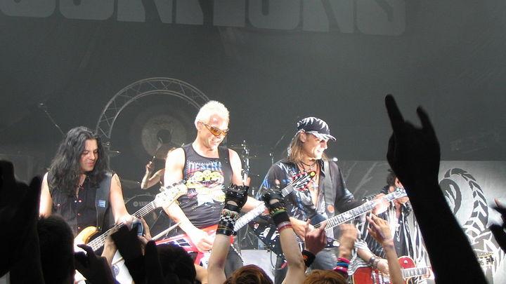 Scorpions. Фото Pablo BM /ru.wikipedia.org/