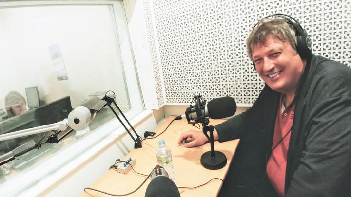 """Борис Березовский в студии """"Радио России"""". Фото Людмилы Осиповой"""