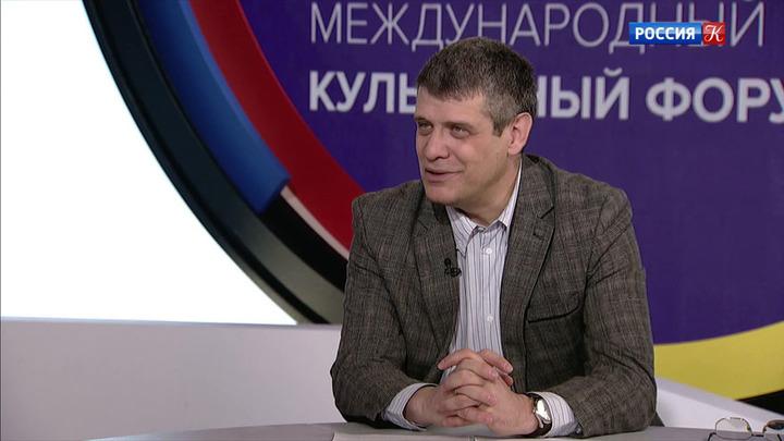 Интервью с директором Государственного литературного музея Дмитрием Баком