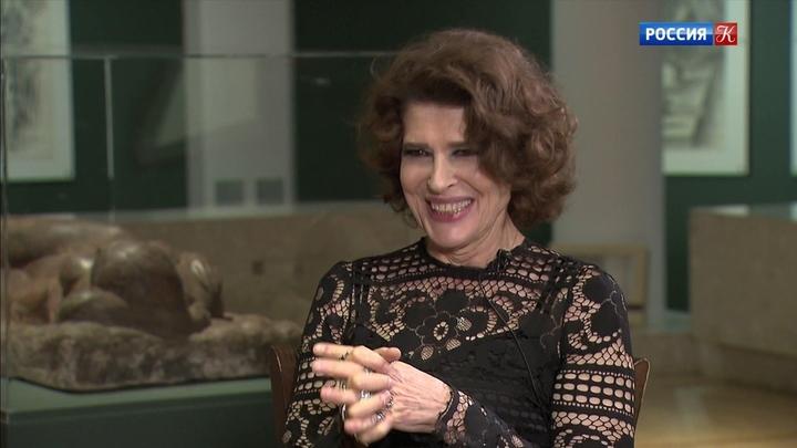 """Интервью с Фанни Ардан перед премьерой фильма """"Прекрасная эпоха"""""""