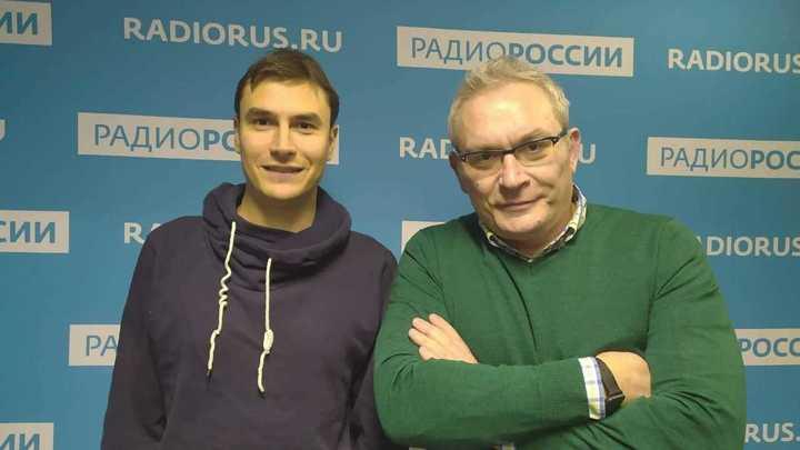Сергей Шаргунов и Вячеслав Коновалов