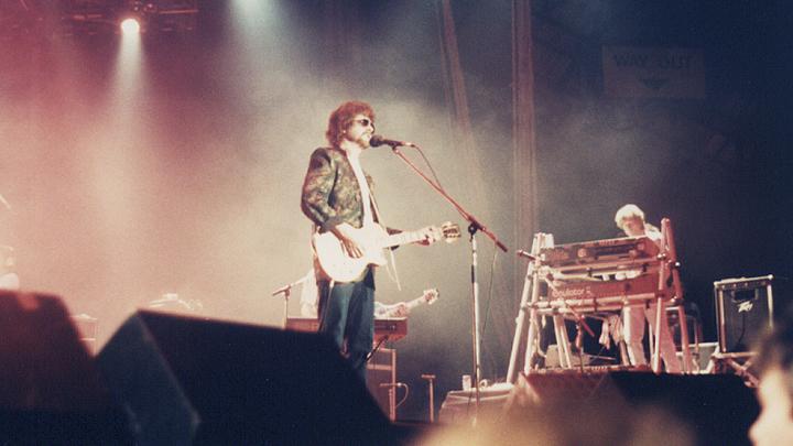 """Британский певец, мультиинструменталист Джефф Линн (Jeff Lynne), """"Оркестр электрического света"""" (ELO)"""