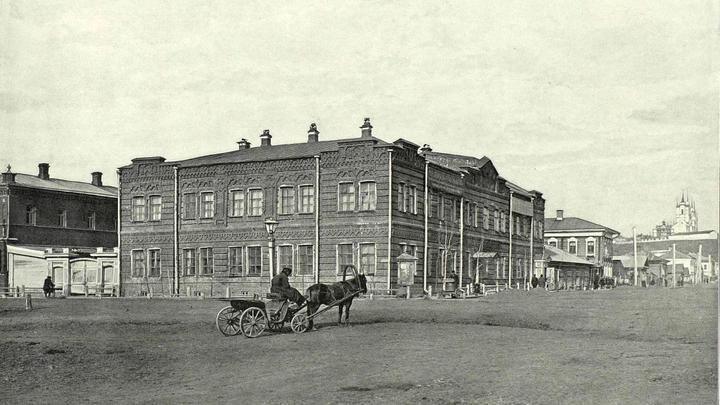 Бесплатная народная библиотека в Томске / автор - И.Р. Томашкевич, 1898 г. / Общественное достояние