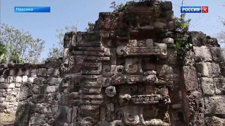 Мексиканские археологи обнаружили дворец, построенный индейцами майя