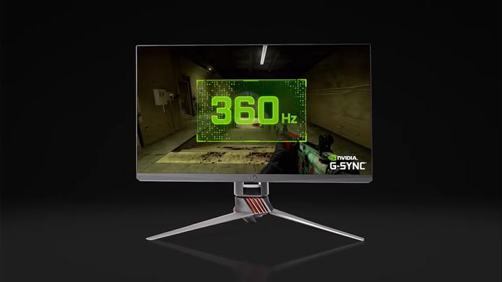 """Nvidia и Asus создали первый 360-герцевый """"профессиональный игровой"""" монитор"""