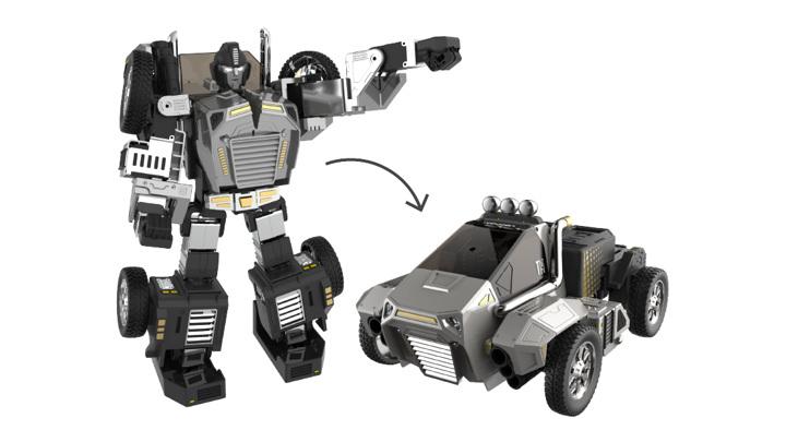 На CES представлен робот-трансформер, преображающийся по голосовой команде
