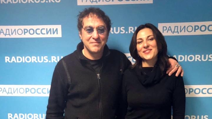 """Нэш Тавхелидзе и Тина Сергуладзе в студии """"Радио России"""""""