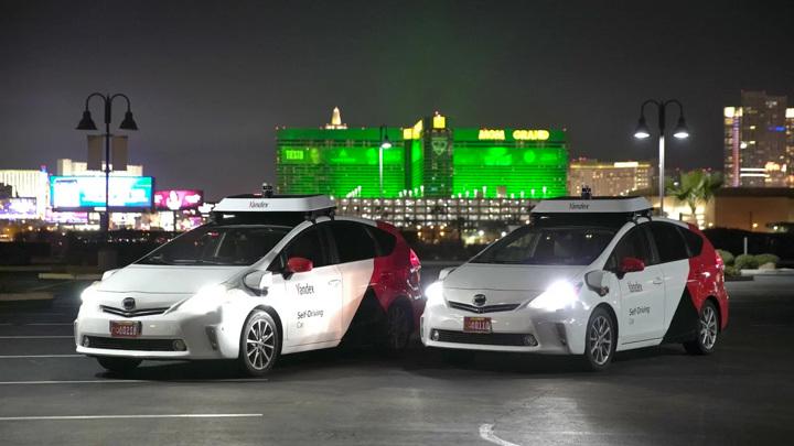 """Такси-беспилотники """"Яндекса"""" проехались по улицам Лас-Вегаса"""