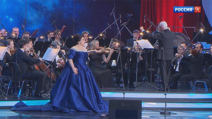 """Юбилейный концерт """"Хибла Герзмава и друзья"""" прошел в Кремле"""