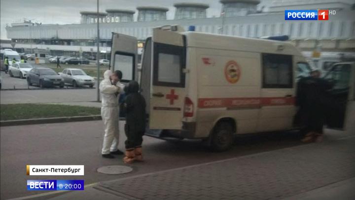 У одного из госпитализированных в Петербурге коронавирус не подтвердился