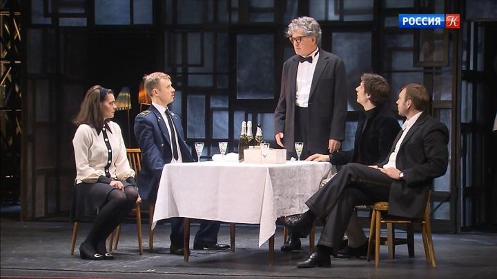 В Театре Маяковского — премьера спектакля «Старший сын»