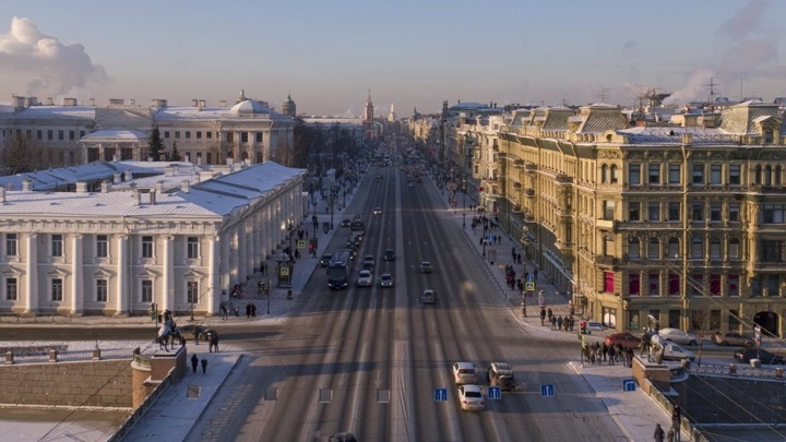 Выход пешеходов на Невский тоже ограничили