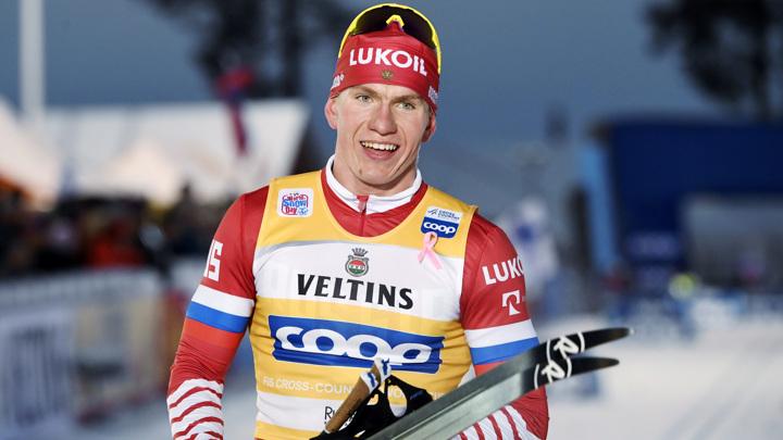 В Финляндии подали заявление на российского лыжника Александра Большунова