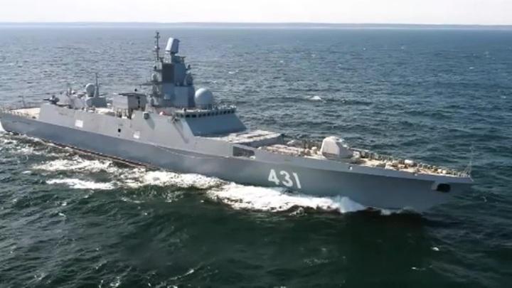 Российский стелс-фрегат поищет подлодки в Норвежском море
