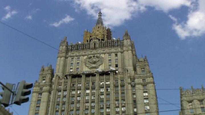 Российский МИД пригласил всех иностранных дипломатов на прививку