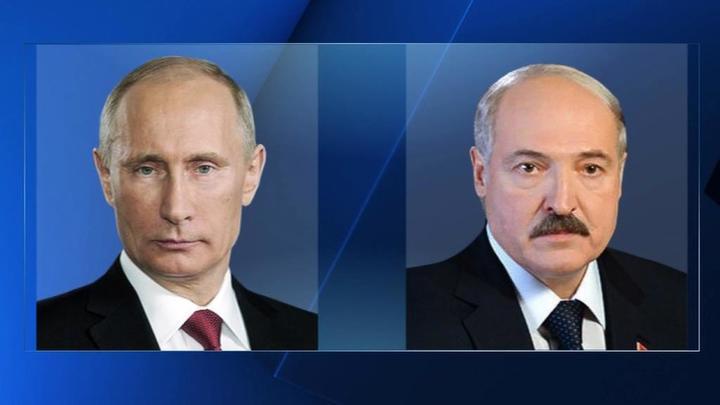 Состоялся телефонный разговор Путина с Лукашенко