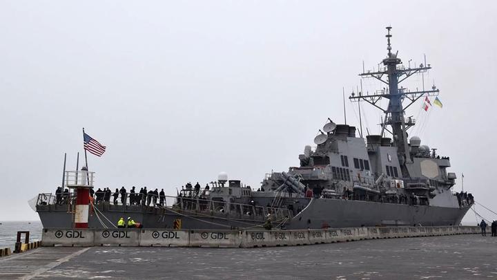 Черное море покинул американский эсминец