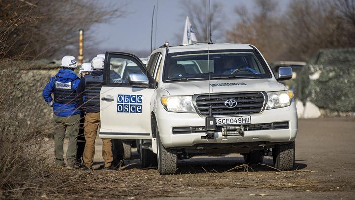 Миссия ОБСЕ приостановила деятельность в Донбассе