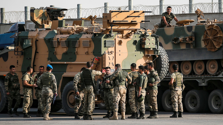 Курды атаковали штаб турецких войск