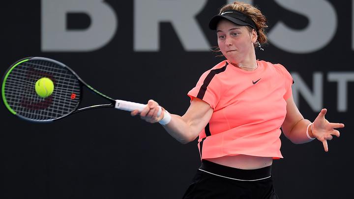 Самсонова одержала победу на старте турнира в США