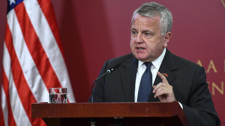 Американский посол обратился к российскому МИДу