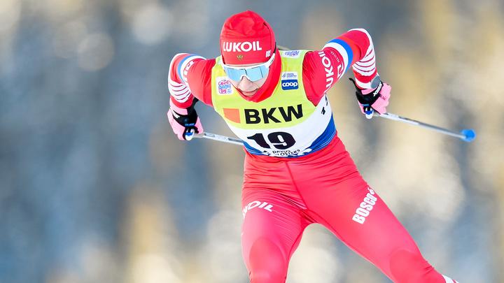 Российские лыжницы остановились в шаге от подиума на эстафете Кубка мира