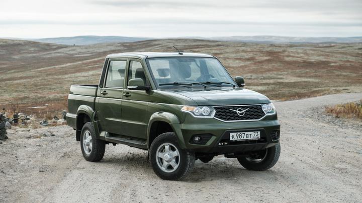 Пикап УАЗ стал лидером продаж в России