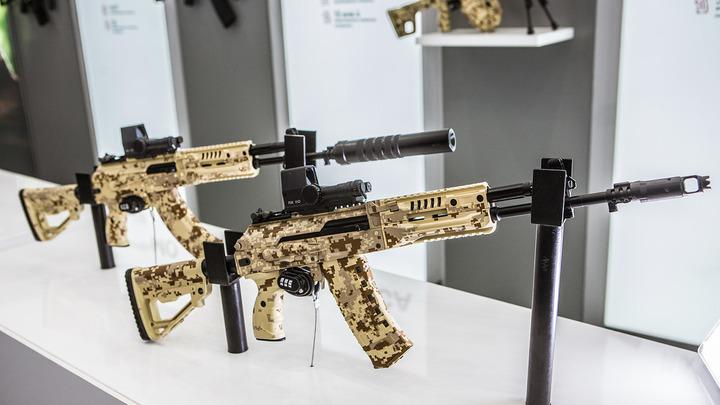 Армия и полиция России получат доработанный автомат АК-12