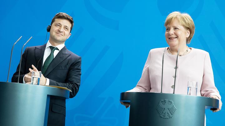 О чем говорили Меркель, Макрон и Зеленский