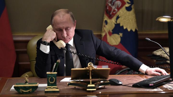 Путин обсудил двусторонние отношения с президентом Словении