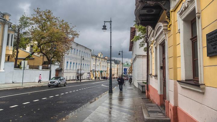 Дождь в Москве к вечеру сменится снегом