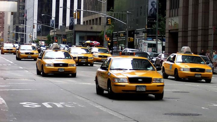 Жёлтые такси реже попадают в аварии