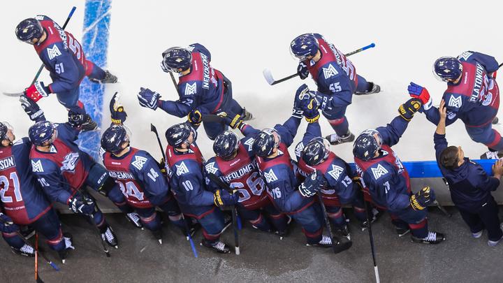 Магнитка продлила победную серию в КХЛ до восьми матчей