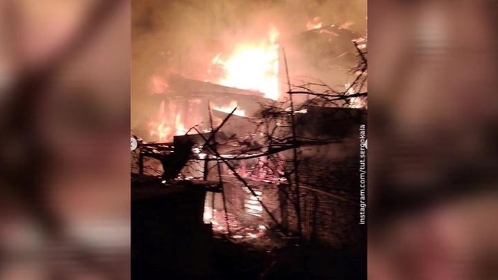 Два человека погибли в результате пожара в гостинице в Дагестане