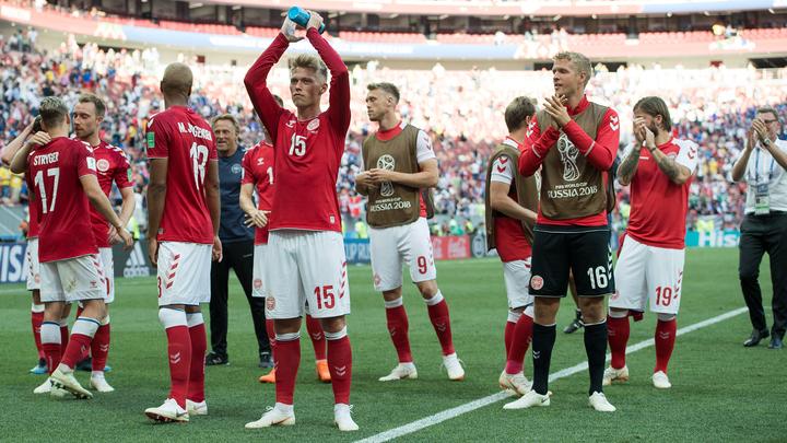 """Евро-2020. Россия – Дания – 1:4. Матч группы """"В"""""""