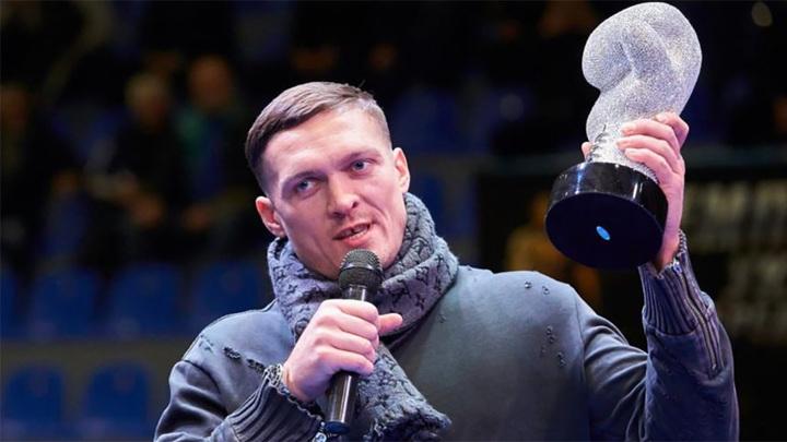 Александр Усик: наш бой с Джошуа войдет в историю
