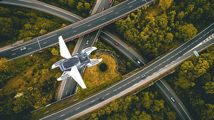 От создателей российского ховербайка: представлен проект летающего такси