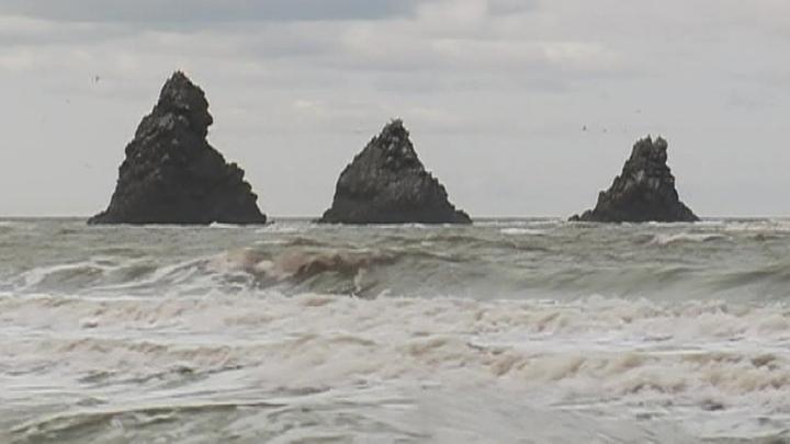 У Курильских островов зафиксирована серия подземных толчков