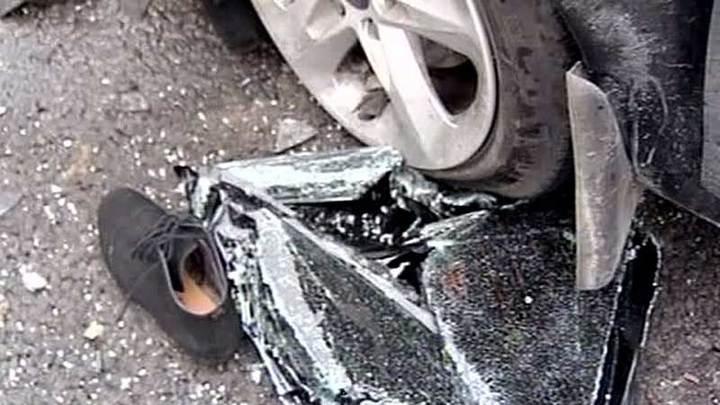 На юго-востоке Москвы столкнулись пять машин