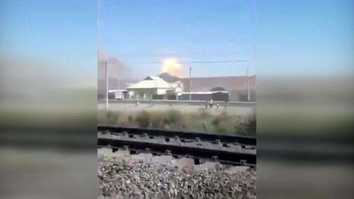 Взрывы на складах боеприпасов на юге Казахстана прекратились
