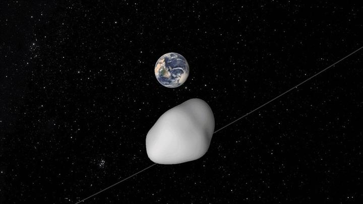 Исследователи попытаются не только чётко определить траекторию астероида, но и изменить его орбиту.