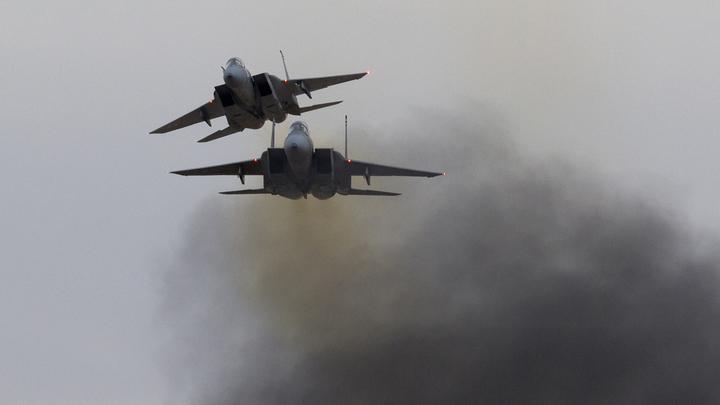 Два F-15 и семь бомб: Пентагон раскрыл подробности удара по Сирии