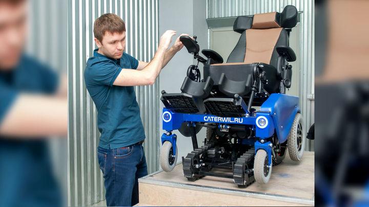В Сибири создана первая в мире инвалидная коляска с мысленным управлением