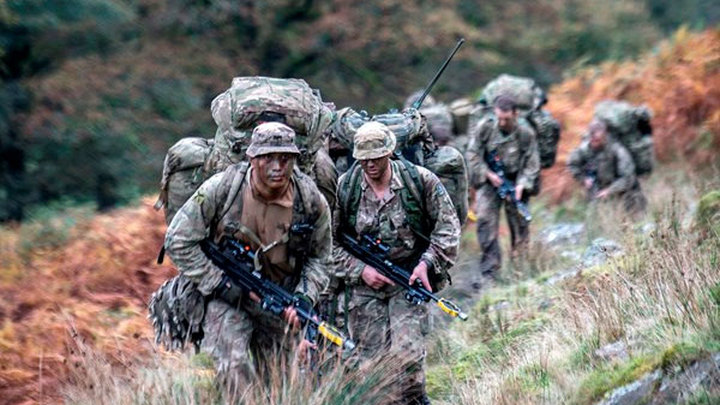 Британия сокращает вооруженные силы