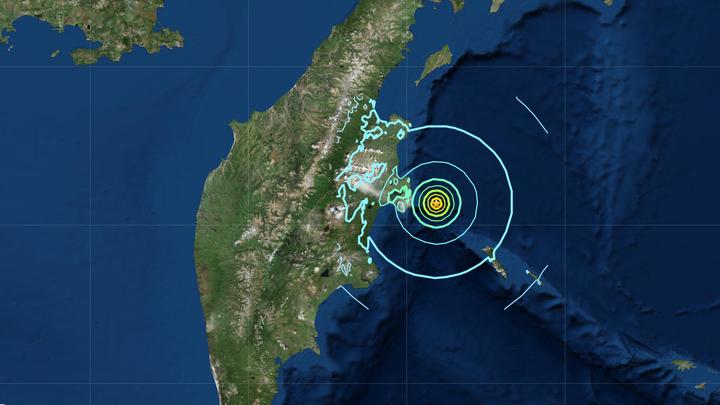 На Камчатке произошло четырехбалльное землетрясение