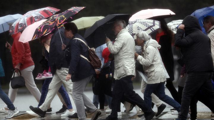 """Погода в Москве: """"похолодание"""" до апрельской нормы и осадки"""