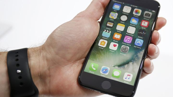 В Китае новый iPhone 7 взорвался в руках у владельца